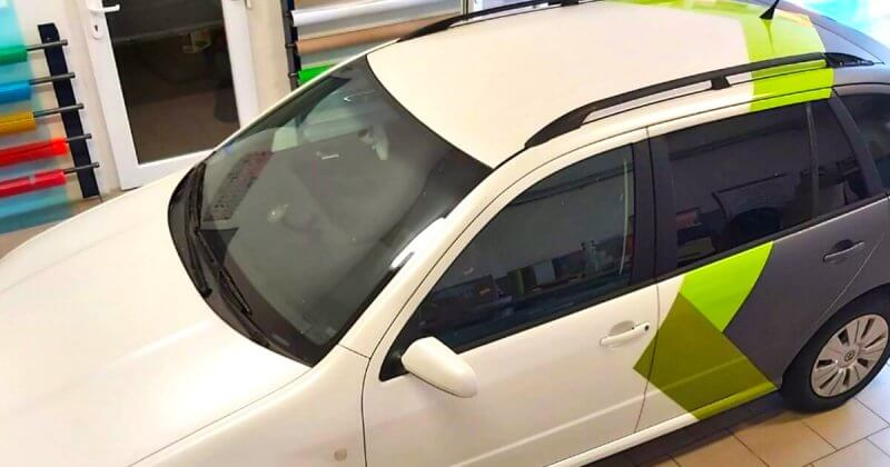 ochrana narazniku auta wrap folii polep auta
